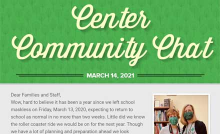Chelmsford Public Schools Center School Newsletter