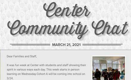 Chelmsford Public Schools Center School Newsletter 3-21-21