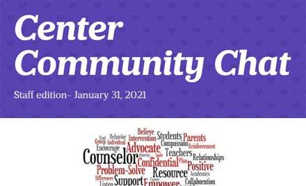 Center Community Chat Newsletter 1-31