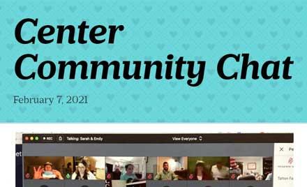 Center Community Chat Newsletter 2-7