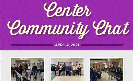 Chelmsford Public Schools Center Community Chat Newsletter April 4, 2021